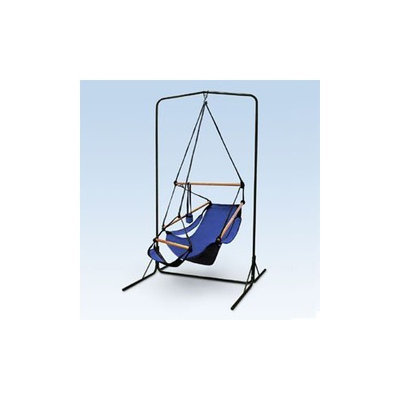 South Mission Black Arch Hammock Chair Stand