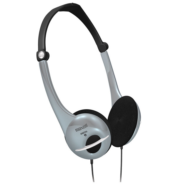 Maxell Folding Digital Headphones - MAXELL CORPORATION OF AMERICA