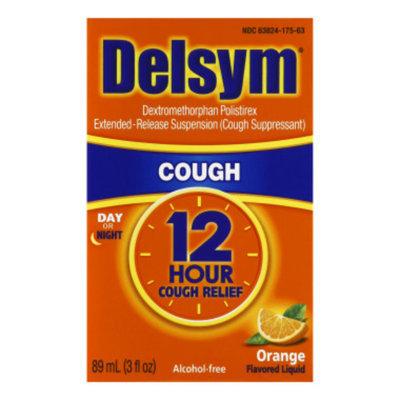 Delsym 12 Hour Cough Suppressant - Orange - 3 oz