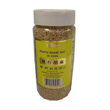 Shirakiku Sesame Seed Toasted White, 8.0-Ounce Bottles (Pack of 6)