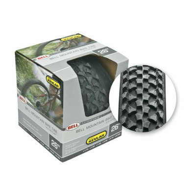 Bell Sports Bell Mountain Bike Tire with Kevlar Layer - Black (26