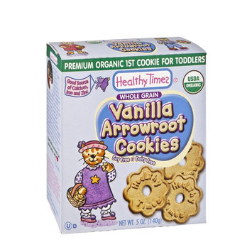 Healthy Times Organic Vanilla Arrowroot Cookies for Toddlers