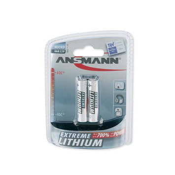 Ansmann 5021013 Ansmann Extreme Lithium AAA 2-Pack