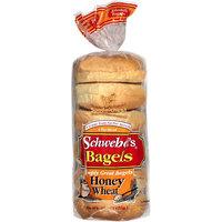 Schwebel's Schwebel?s Honey Wheat Bagels, 15 oz