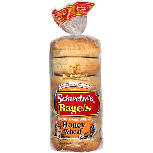 Schwebel's Schwebel?s Honey Wheat Bagels, 15 oz