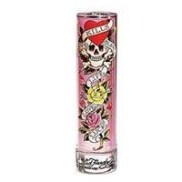 ED HARDY by Christian Audigier Gift Set for WOMEN: EAU DE PARFUM SPRAY 1.7 OZ & SHIMMER BODY LOTION 3 OZ & EAU DE PARFUM SPRAY .25 OZ