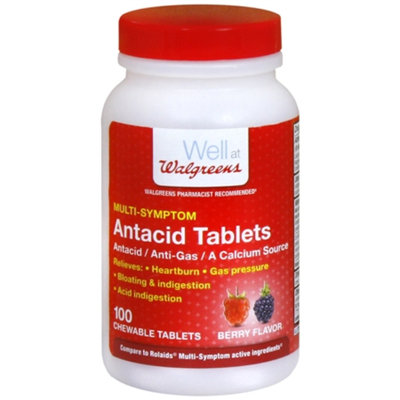 Walgreens Antacid Chewable Tablets Multi-Symptom