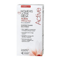 GNC Women's Ultra Mega Active without Iron Multivitamin