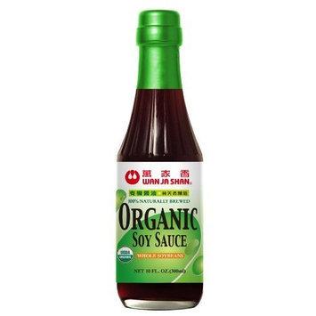 Wan Ja Shan Organic Soy Sauce 10oz (Pack of 6)