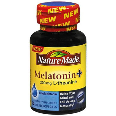 Nature Made Melatonin + L-Theanine 200mg