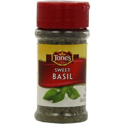 Tone's Basil, Sweet Leaf, 0.63-Ounce