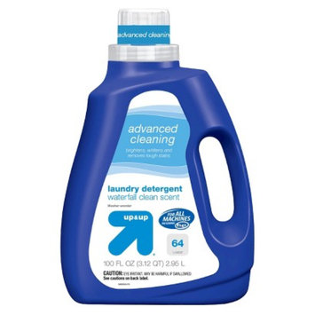 up & up Advanced Cleaning Waterfall Clean Scent Liquid Laundry