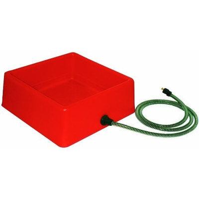 Farm Innovators 1-1/4-Gallon Heated Water Bowl for Chickens, Model D-19, 60-Watt