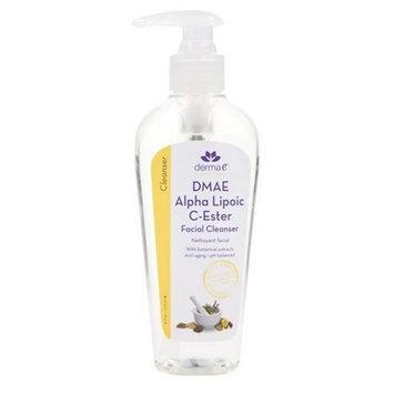 Derma e Foaming Facial Cleanser, DMAE Alpha Lipoic C-Ester, 4 fl oz (118 ml)