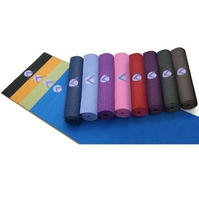 Aurorae Premium Classic Yoga, Fitness, Exercise, Pilates Mats; 1/4