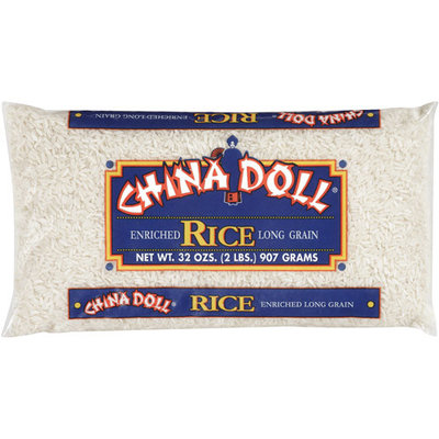 China Doll: Enriched Long Grain Rice, 32 Oz