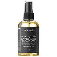 Earth's Nectar Green Olive & Lavender Scalp Oil 4 oz