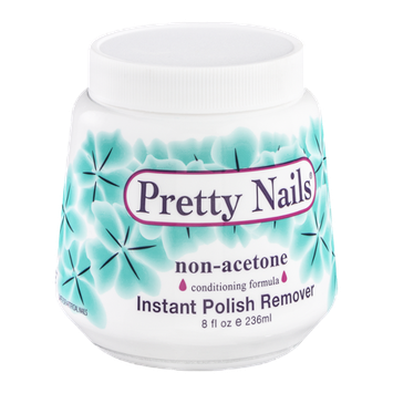 Pretty Nails Instant Polish Remover Non-Acetone