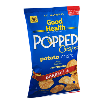 Good Health Popped Potato Crisps Barbecue