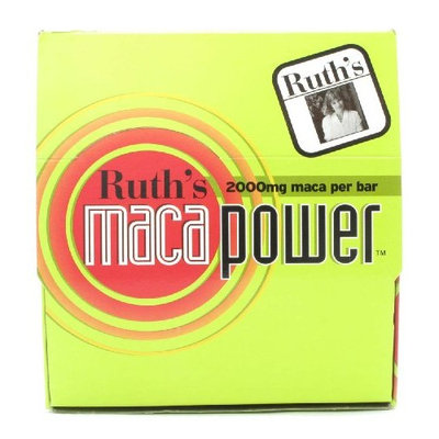Ruth's MacaPower Bars