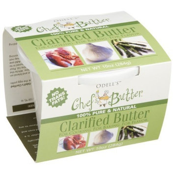 O'dells Odell's Chef's Butter, Clarified Butter, 10-Ounce Tubs (Pack of 3)