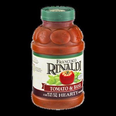 Francesco Rinaldi Hearty Pasta Sauce Tomato & Basil