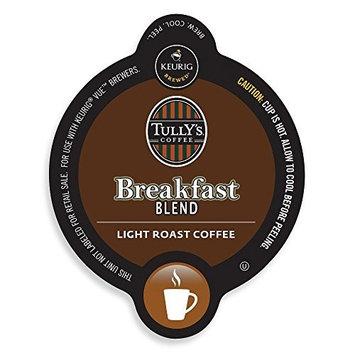 Tullys Coffee Keurig V-Cup Tully's Breakfast Blend 16ct