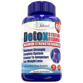 Islands Miracle Colon Detox Cleanse Max Strength For Weight Loss - Other Cleansers Dont Compare To This ULTIMATE Cl