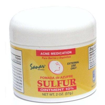 Sanar Naturals Sulfur Ointment - Pomada De Azufre - Acne Medicine