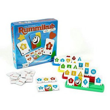 Rummikub For Kids Game Ages 4 and up, 1 ea
