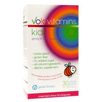 VoloVitamins Kids Multivitamin Stick Packs, Mixed Berry, 30 ea
