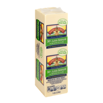 Land O'Lakes American Deli Cheese 30% Less Sodium