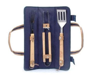 Picnic & Beyond BBQ Skewer Wrap- Blue