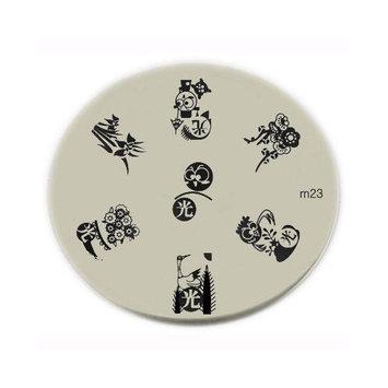 Konad Nail Art Konad Stamping Nail Art Image Plate - M23