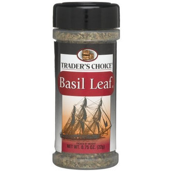 Traders Choice Basil Leaf , 0.75-Ounce Plastic Jars (Pack of 12)