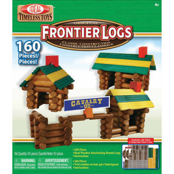 Ideal 160 piece Frontier Logs in Canister