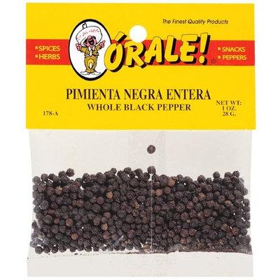 Orale Whole Black Pepper, 1 oz