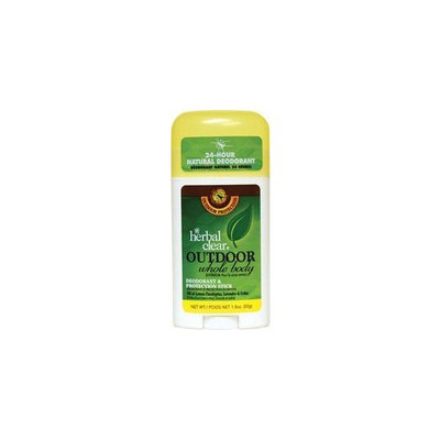 Herbal Clear Whole Body Deodorant, Outdoor 1.8 oz (50 g)