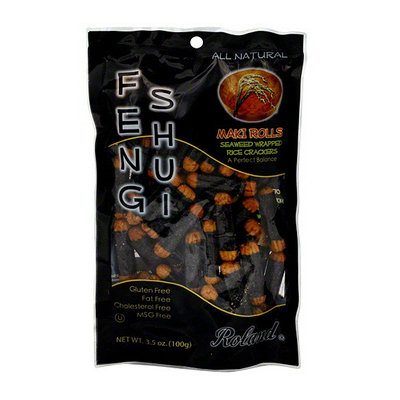 Roland Feng Shui Seaweed Wrapped Crackers