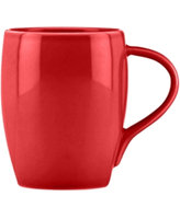 Dansk Dinnerware, Classic Fjord Chili Red Mug