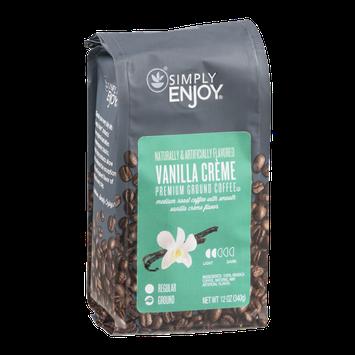 Simply Enjoy Ground Coffee Vanilla Creme
