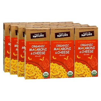 Back to Nature Organic Macaroni & Cheese Dinner 12 Pack