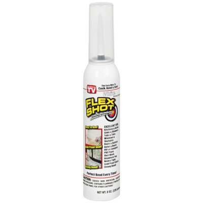 As Seen on TV Flex Shot Sealant - White (80 oz)