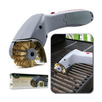 Chef Buddy Cordless Motorized Outdoor Grill Cleaning Brush, 1 ea