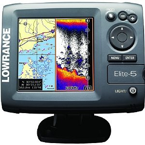Lowrance Elite 5 Base Us Fishfinder/Chartplotter Model 000-00104-001
