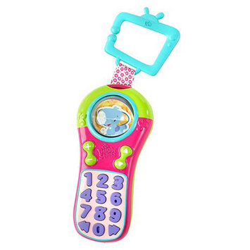 Kids II Bright Starts - Click & Giggle Pink Remote