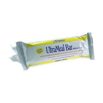 Metagenics UltraMeal Bar Lemon Zinger 12 Bars/Box