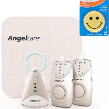 Angelcare AC605-2PU - Movement and Sound Monitor with 2 Parent Units and Night L