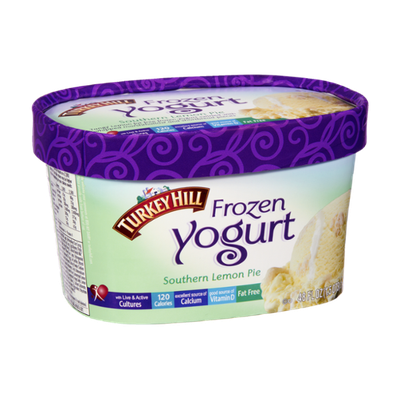 Turkey Hill Southern Lemon Pie Frozen Yogurt