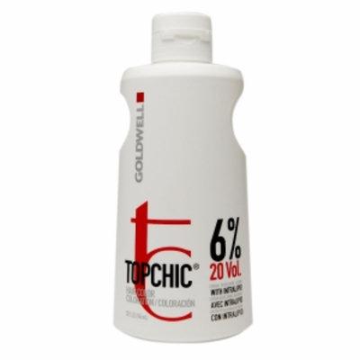 Goldwell Topchic Hair Color Coloration Cream Developer Lotion, 20 Volume/6%, 32 fl oz